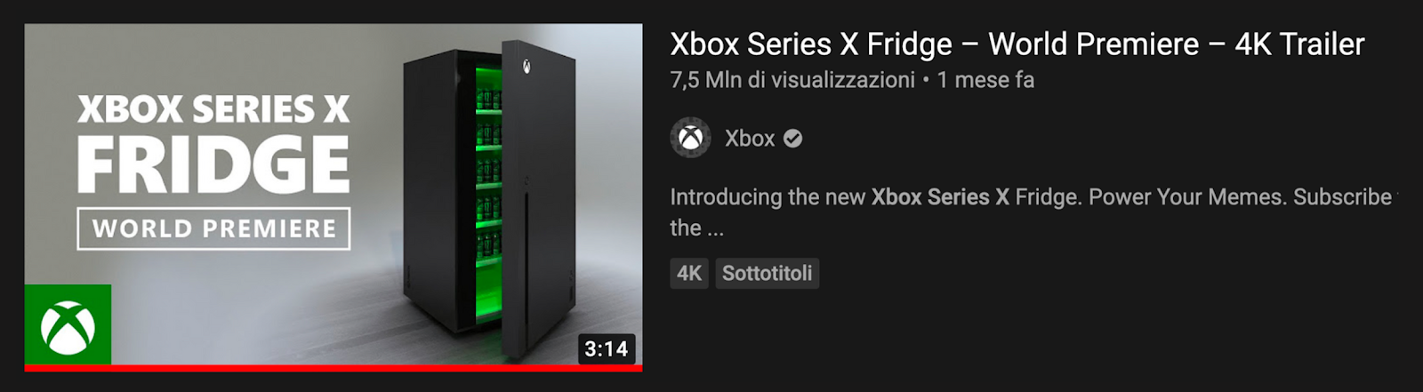 xbox fridge campaign